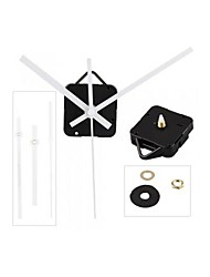 Quartz Clock Movement Mechanism White Hands DIY Repair Parts Kit