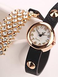 corrispondono ai sette donne ragazza tutte casuale orologio diamante