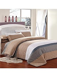 Set of 4    Bamboo Fiber Twill  Duvet  Covers