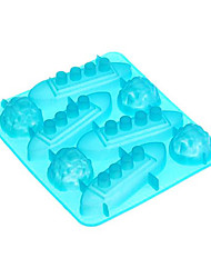 Titonic Ice Mould Silicone Ice Cubes Tray Pudding Jelly Mold  5.5x6.28x1 inch