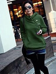 Women's Long Sleeve Hoodie Sweatshirt Pullover