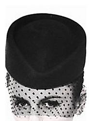 tulle style formel de chapeau rond point oaccsion / chapeau spécial de stade