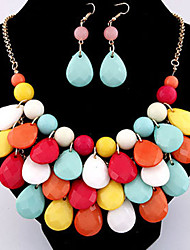 XinYuan Fashion Casual Bohemia Multi-Color Necklace