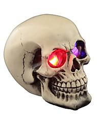 Хэллоуин украшения игрушки новизны дурацкий розыгрыш трюк реквизит смолы череп