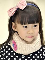 Baby unisex O-neck Flower Knit Cute Collar Scarf