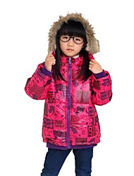 Girl's Down & Cotton Padded , Winter Long Sleeve