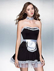 Performance Down And Dirty French Maid Costume
