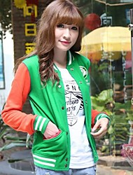 Women's Clothing Dazhongjie Pure Cotton Baseball Jacket 7018