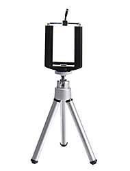 Silver Adjustable Tripod for Cellphone