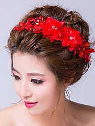 Fabric Headpiece-Wedding / Special Occasion Flowers