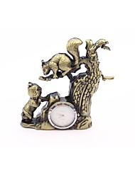 The Little Squirrel Bronze Electronic Creative Metal Lighters Personality
