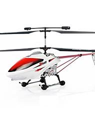 Huajun exklusiven, patentierten rc Hubschrauber 2.4G 3.5ch mit LED-Licht / Gyro / Superlegierung Robustheit hj807