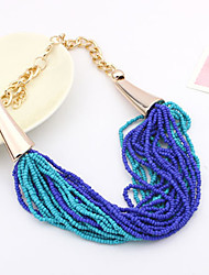 Colorful day  Women's European and American fashion necklace-0526061