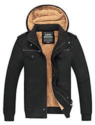 C&K Men's Jacket (Khaki Olive Black)