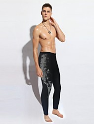 nouvelles jambières de conservation de chaleur maigre des hommes