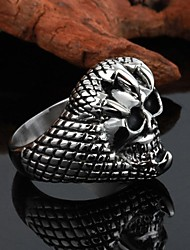 Unisex Personality High Quality Titanium Steel Ring—Devour