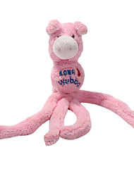 forma de polvo animais de estimação brinquedo de pelúcia