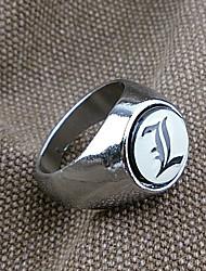 L Lawliet Symbole alliage des anneaux rotatifs