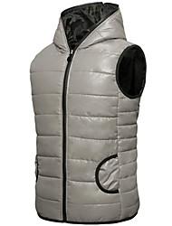 delgado chaleco de algodón con capucha de / lady de los hombres vals ™