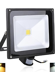 30 W 1 High Power LED 3000 LM Warm White/Cool White Sensor Flood Lights AC 85-265 V