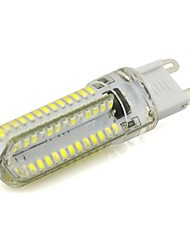 7W G9 Luces LED de Doble Pin 104 SMD 3014 560 lm Blanco Cálido / Blanco Fresco AC 100-240 V 1 pieza