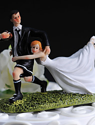 "Cake Toppers ""Carry Me With You"" Athletic Figurine  Cake Topper"