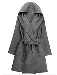 Women's European Linen Large Yard Coat Coat