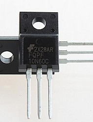 FQPF10N60C TO-220 FQPF10N60 10N60C 10N60 600V N-Channel MOSFET(5PCS)