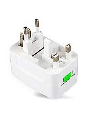1pcs Useful UK/ US/ EU to AU AC Power Travel Adapter Plug 3 Pin White Converter