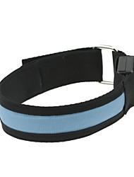 conduit le bras de lumière bracelet en bande bleue brassard (2xcr2032)