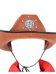 café chapeau de cowboy Halloween accessoire
