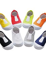 Zapatos de bebé Al aire libre/Informal Lienzo Mocasines Negro/Azul/Amarillo/Verde/Rojo/Blanco/Gris/Azul marino/Naranja