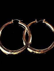 cercle classique des boucles d'oreilles en alliage miss duo femmes