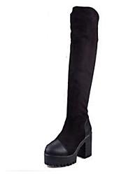 Zhuoyue Women's Fashion Thick Heel Martin Boots