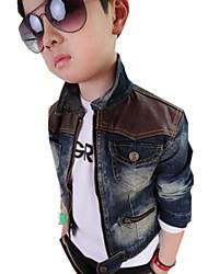 Boy's Cotton/Denim Jacket & Coat , Winter/Spring/Fall Long Sleeve