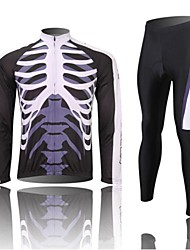 WEST BIKING Ciclismo Set di vestiti/Completi / Manicotti Per uomo BiciclettaTraspirante / Asciugatura rapida / Design anatomico / Pad 3D