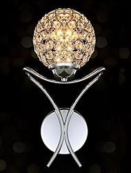 appliques 1 lumière cristal artistique moderne et simple