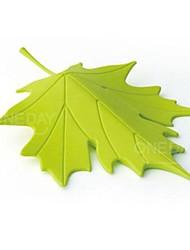 protettore autunno foglia d'acero casa decorativo ornamento porta tappo fermaporta (colore casuale)