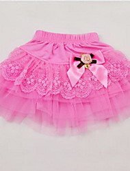 Girl's Cotton Blend/Polyester Skirt , Summer