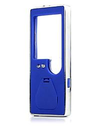 portátil 3 blanco-zw 7007 llevó 1 azul llevó la luz de lupa 6x con un bolígrafo (3 * LR1130)