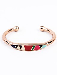 Fashion Women Elegant Enamel Cuff