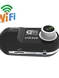 HD 1080P Mini Camcorder Car DVR with Wireless Wifi 140 degree Wide Angle 10M Lens  for Android or iOS