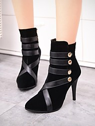 Women's Shoes Pointed Toe Stiletto Heel Ankle Boots with Zipper More Colors available