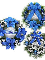 """16 """"de pino decoración de navidad guirnalda, tipo aleatorio"""