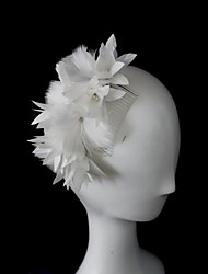 Women's Feather Headpiece-Wedding Special Occasion Fascinators