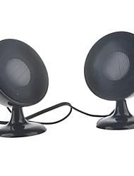 lvfan USB 2.0 protable haut-parleur pour PC / téléphone portable / MP3 / DVD 1 paire