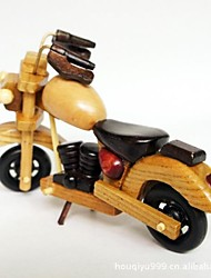 The Wooden Motorcycle  Handicraft Furnishing Articles (Picture Color)