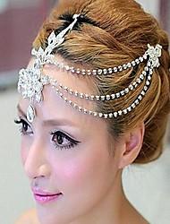 les casques haut de gamme de luxe diamant diadème de mariée