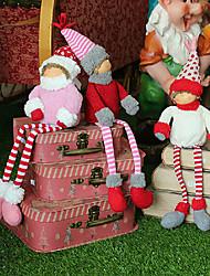 navidad piernas largas muchacho y muchacha muñeca