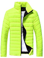 MANWAN WALK®Men's Korean Design Casual Down Coat.Multi Color Thick Warm Cotton-Padded Jacket.